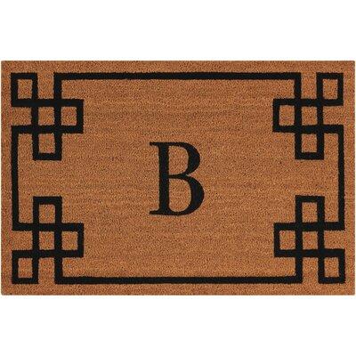 Monogrammed Doormat Letter: B