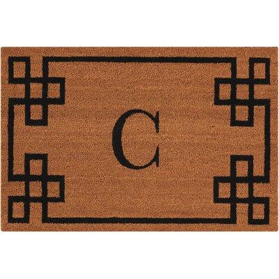 Monogrammed Doormat Letter: C