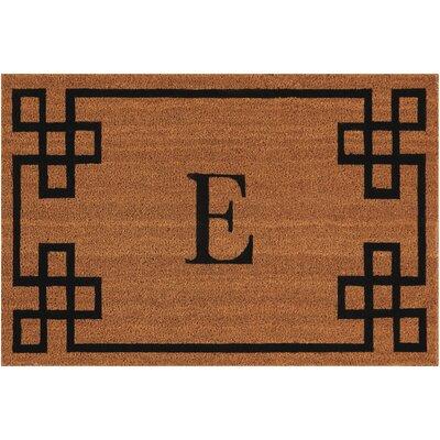 Monogrammed Doormat Letter: E