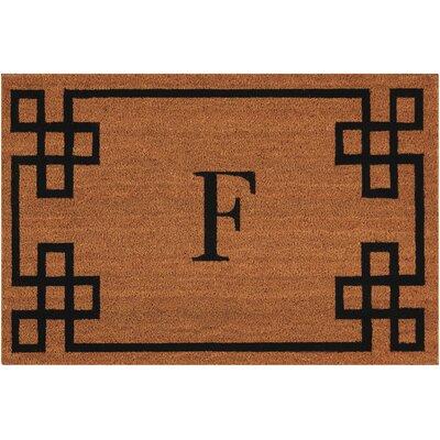 Monogrammed Doormat Letter: F