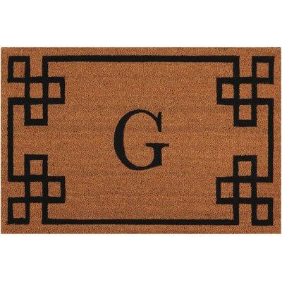Monogrammed Doormat Letter: G