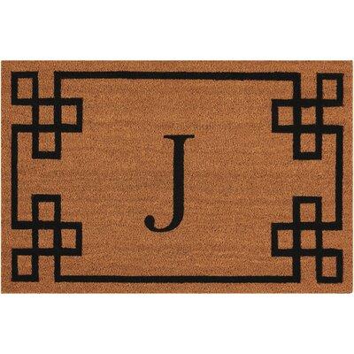 Monogrammed Doormat Letter: J
