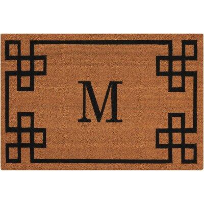 Monogrammed Doormat Letter: M