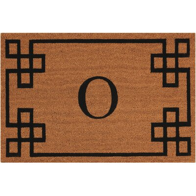 Monogrammed Doormat Letter: O