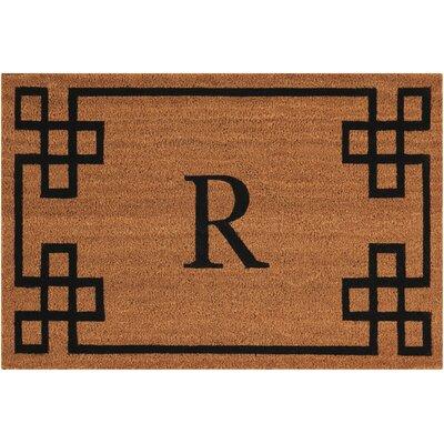 Monogrammed Doormat Letter: R