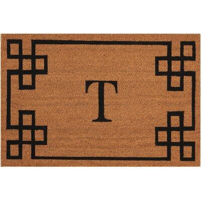 Monogrammed Doormat Letter: T