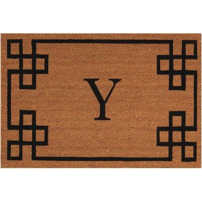 Monogrammed Doormat Letter: Y