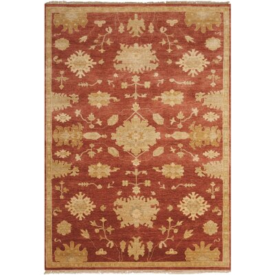 Friso Persimmon Area Rug Rug Size: 99 x 139