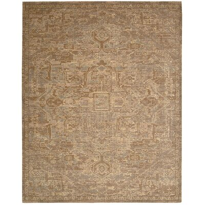 Dringenberg Chocolate Area Rug Rug Size: Rectangle 56 x 8