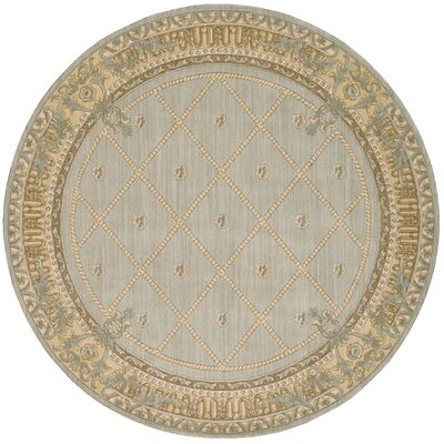 Payzley Surf Area Rug Rug Size: Round 56