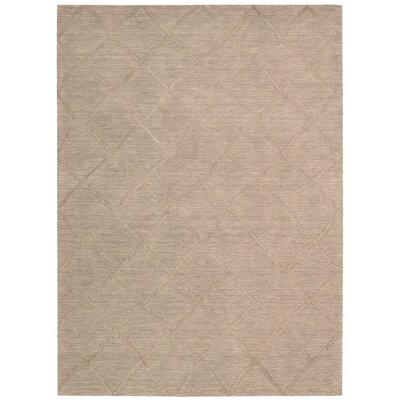 Vassalboro Hand-Loomed Sand Area Rug Rug Size: 8 x 10