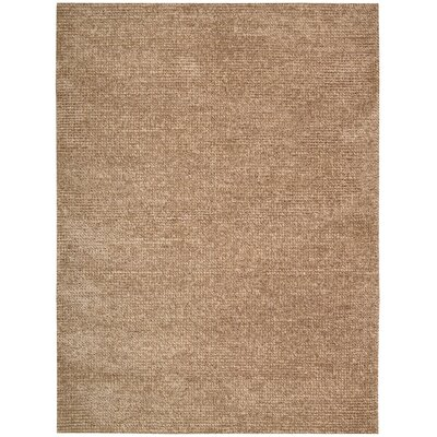 Fantasia Hand-Tufted Brown Area Rug Rug Size: 36 x 56