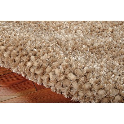 Fantasia Hand-Tufted Brown Area Rug Rug Size: Runner 23 x 8