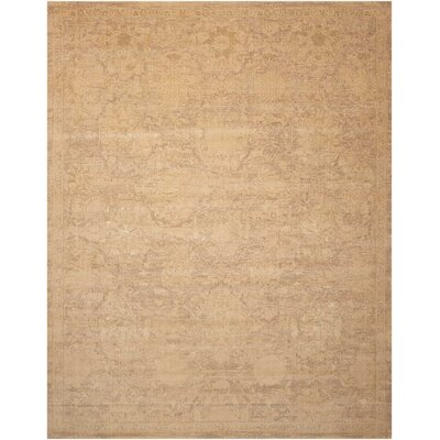 Atarah Wool Sand Area Rug Rug Size: Rectangle 79 x 99