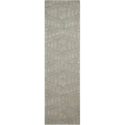 Moda Hand-Tufted Breeze Area Rug Rug Size: Runner 23 x 8