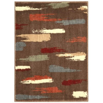 Expressions Chocolate Area Rug Rug Size: 2 x 29
