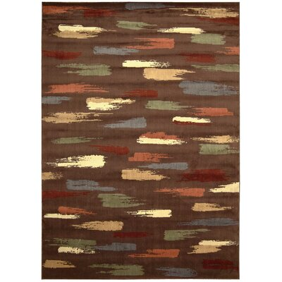 Mikki Chocolate Area Rug Rug Size: Rectangle 79 x 1010