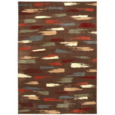 Mikki Chocolate Area Rug Rug Size: Rectangle 96 x 13