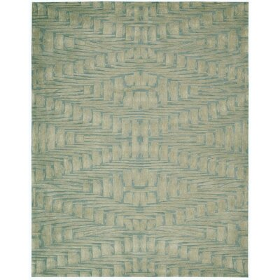 Moda Hand-Tufted Breeze Area Rug Rug Size: 56 x 75