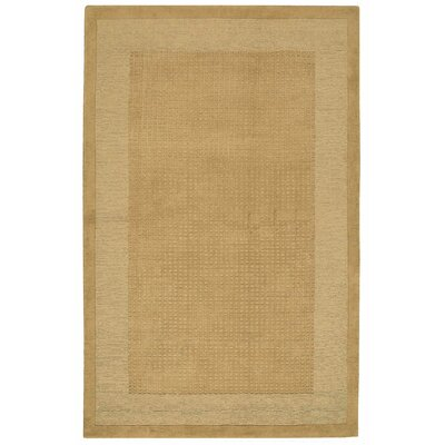 Aspasia Hand-Tufted Sand Area Rug Rug Size: Rectangle 5 x 8