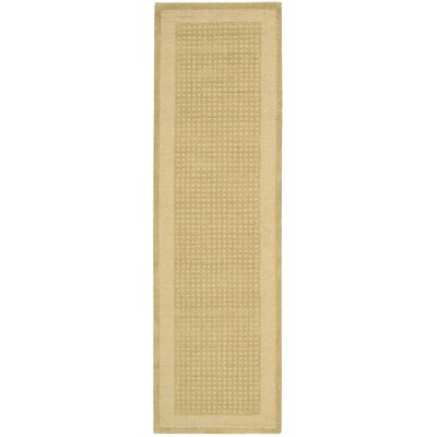 Westport Hand-Tufted Sand Area Rug Rug Size: Runner 23 x 76
