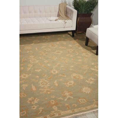 Genoveva Light Green Rug Rug Size: Rectangle 79 x 99
