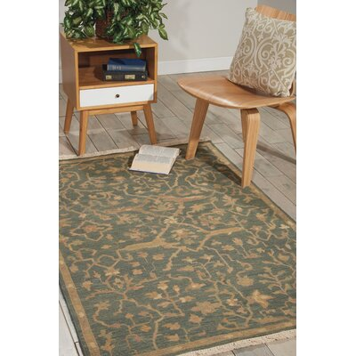 Genoveva Blue Rug Rug Size: Rectangle 99 x 139