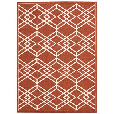 Enhance Paprika Area Rug Rug Size: 4 x 6