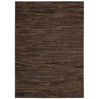 Capelle Hand-Woven Brown Area Rug