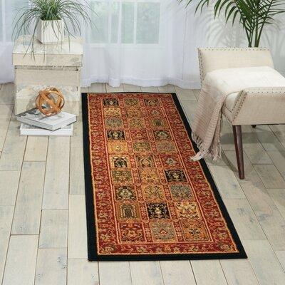 Paramount Multicolor Rug Rug Size: Runner 22 x 73