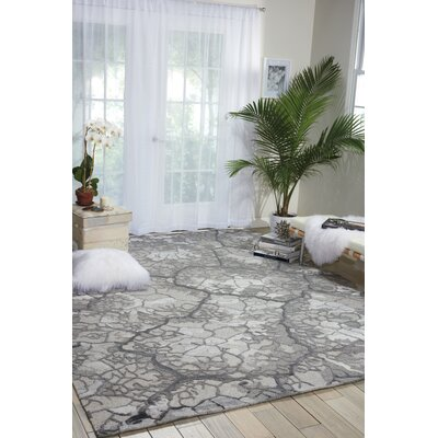 Limerick Hand-Knotted Gray Area Rug Rug Size: Rectangle 79 x 99