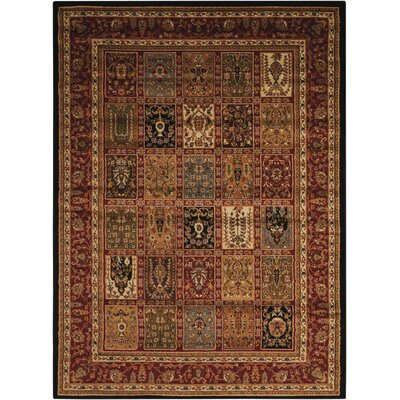 Lukeson Multicolor Rug Rug Size: Rectangle 53 x 73