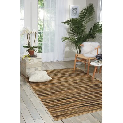 Fitch Beige Rug Rug Size: 53 x 73