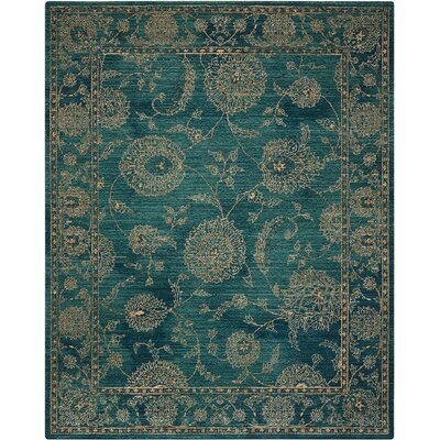 Mailus Blue Area Rug Rug Size: Rectangle 2 x 3