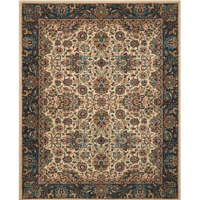 Madrid Brown Area Rug Rug Size: Rectangle 4 x 6