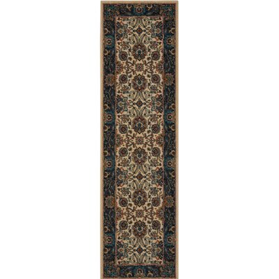 Madrid Brown Area Rug Rug Size: Runner 23 x 8