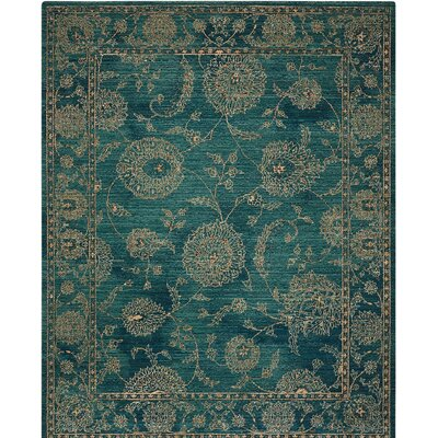 Mailus Blue Area Rug Rug Size: Rectangle 4' x 6'