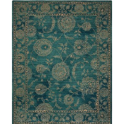 Mailus Blue Area Rug Rug Size: Rectangle 8 x 106