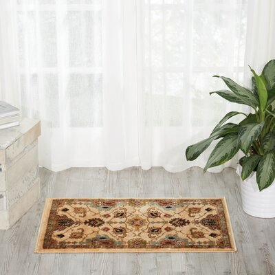 Manorville Ivory Area Rug Rug Size: Rectangle 2 x 3