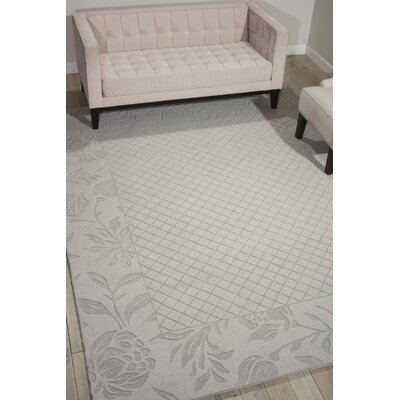 Riverwoods Hand-Tufted Seafoam Area Rug Rug Size: 36 x 56