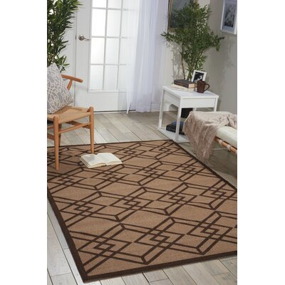 Enhance Latte Area Rug Rug Size: 4 x 6