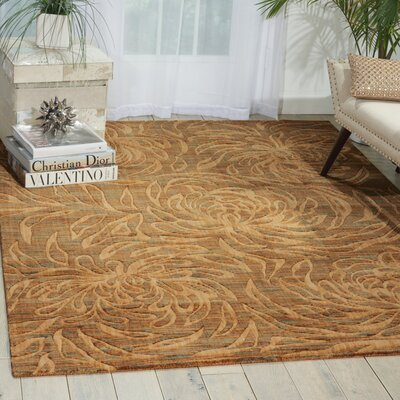 Kindra Hand Woven Beige Rug Rug Size: Rectangle 56 x 75