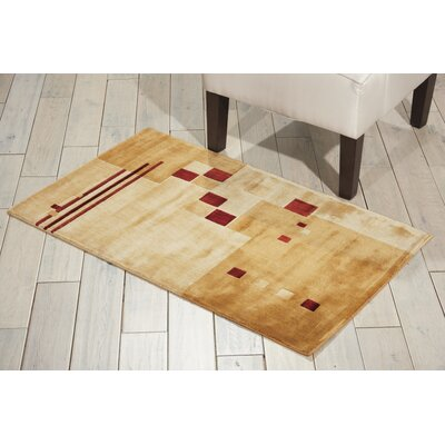 Annelise Beige Area Rug Rug Size: Rectangle 23 x 39