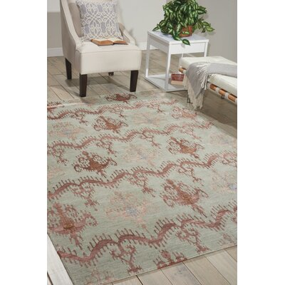 Silk Shadows Azuco Area Rug Rug Size: 39 x 59