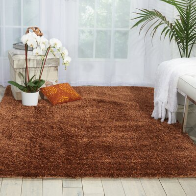 Cera Chocolate Area Rug Rug Size: Rectangle 76 x 96
