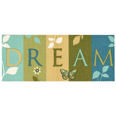 Buchanon Doormat Color: Blue/Green