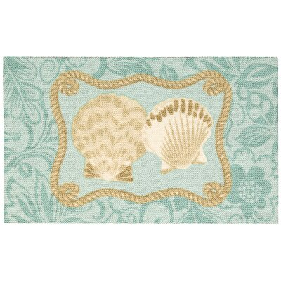 Middleton Indoor Doormat Color: Blue