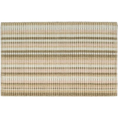 Chenille Woven Doormat Rug Size: 23 x 39