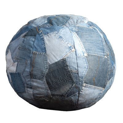 Denim Pillow Size: 24 x 24