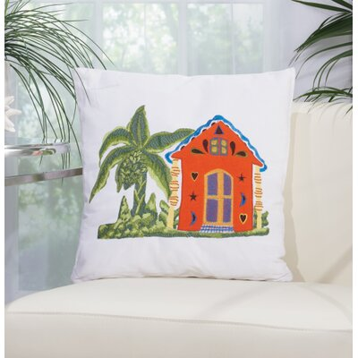 Carribean Home Throw Pillow